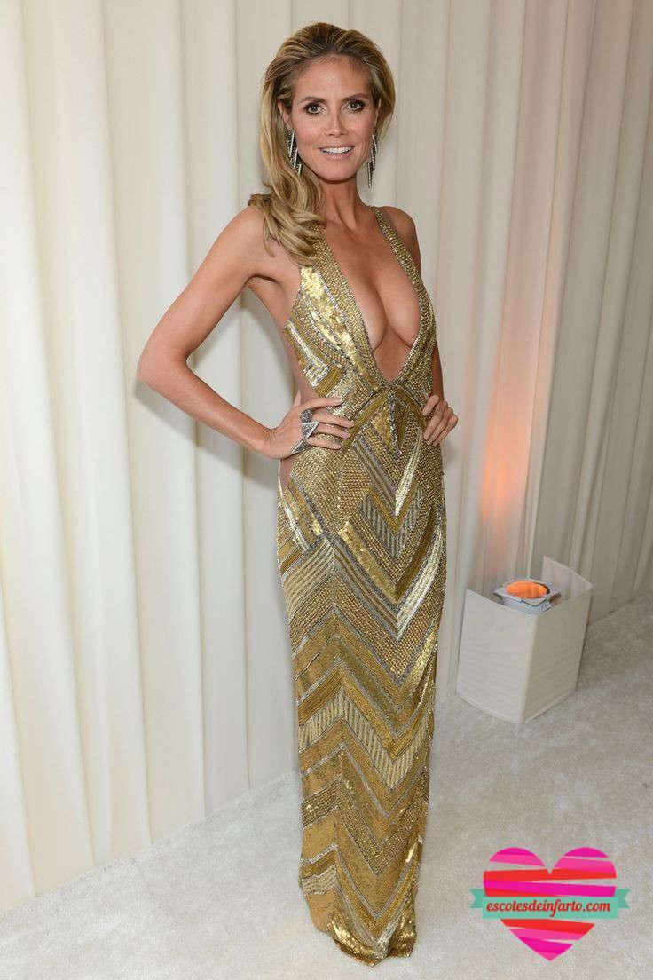 Heidi Klum arrasa en la fiesta