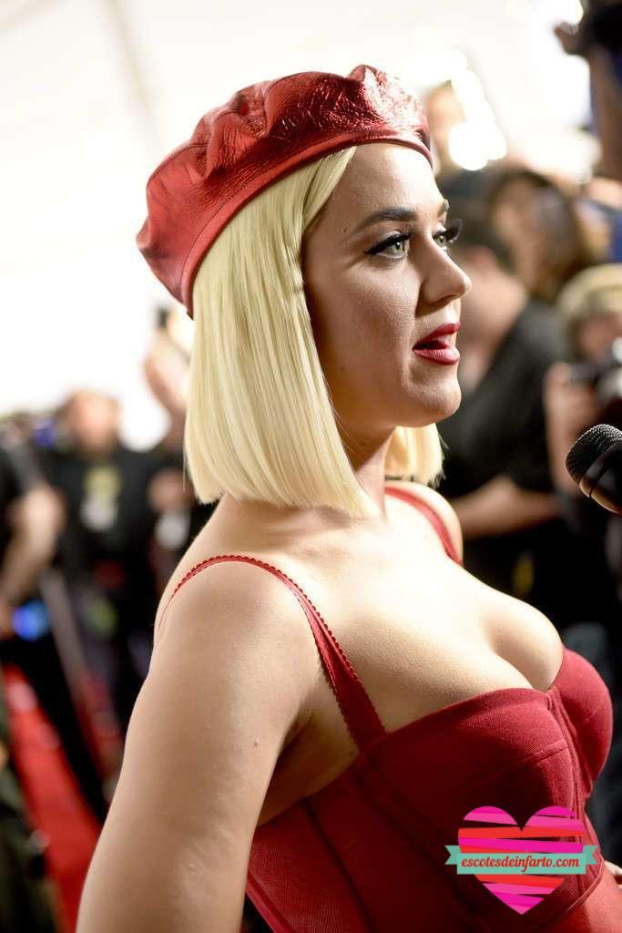 Katy Perry en sostén