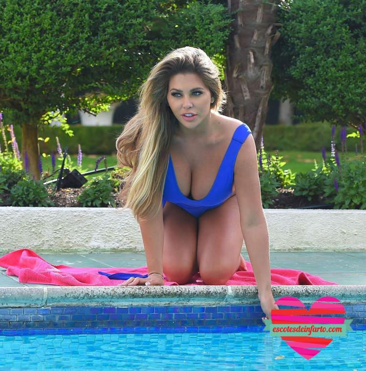 Bianca Gascoigne en Portugal