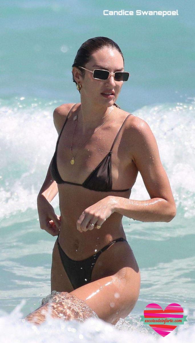 Candice Swanepoel con gafas de sol
