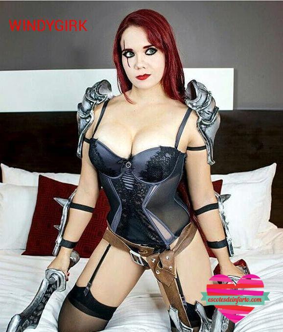 Windygirk cosplay guerrera sexy