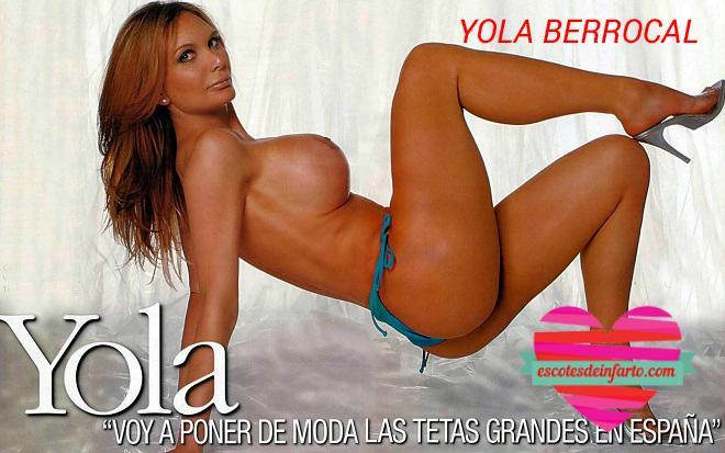 Yola Berrocal en interviu