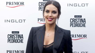 Cristina Pedroche Enseña una Teta